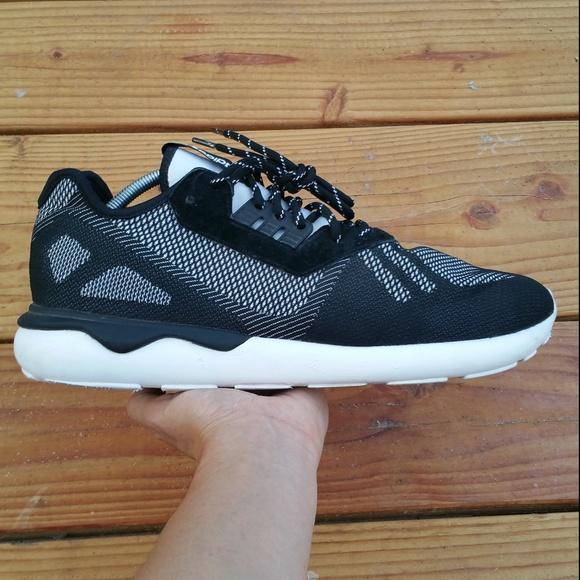 huge selection of 060bd 2fcd6 adidas Tubular Weave Runner Walking Walk Sneakers